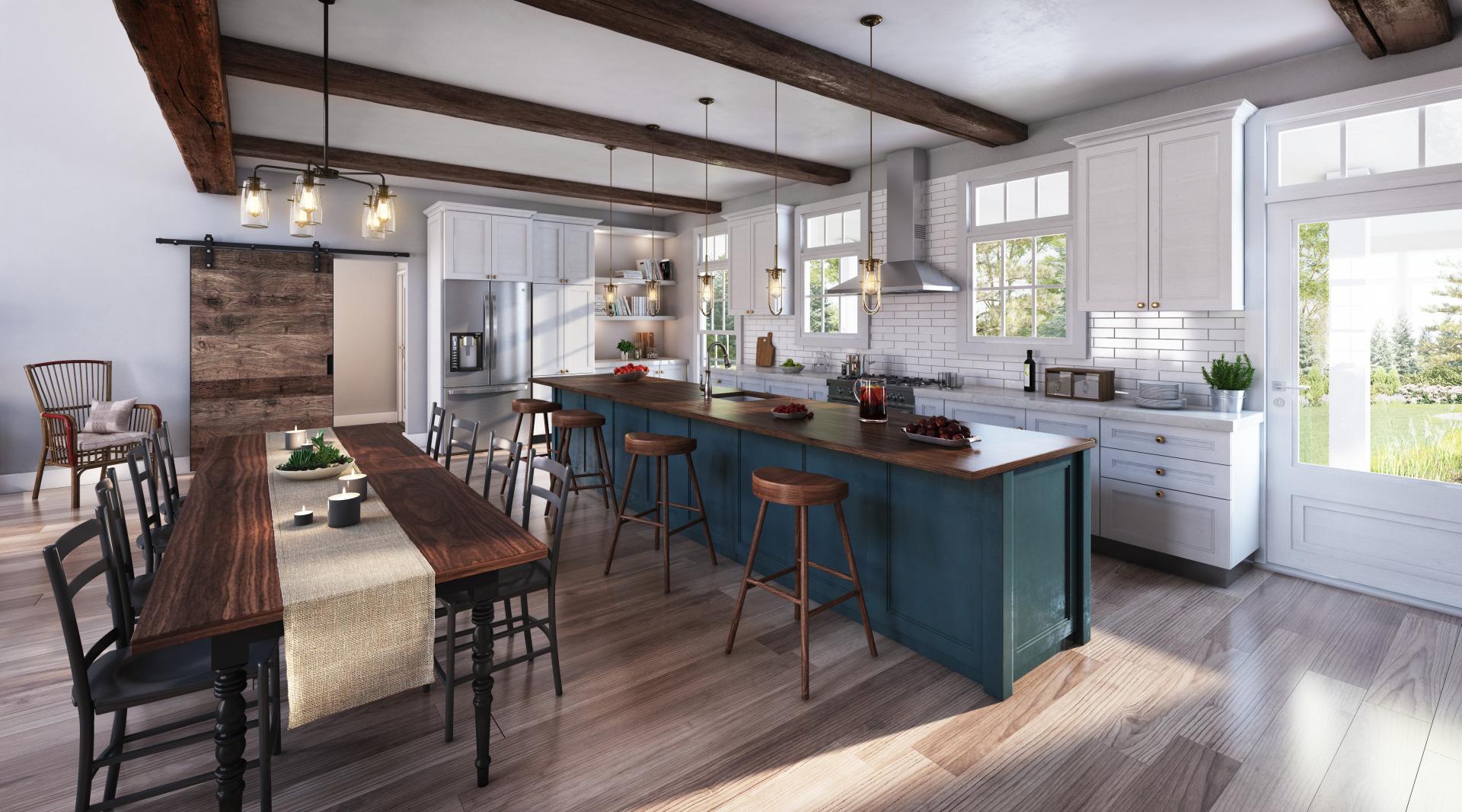 Profile Homes Barn Conversion Interior © 2018 Profile Homes