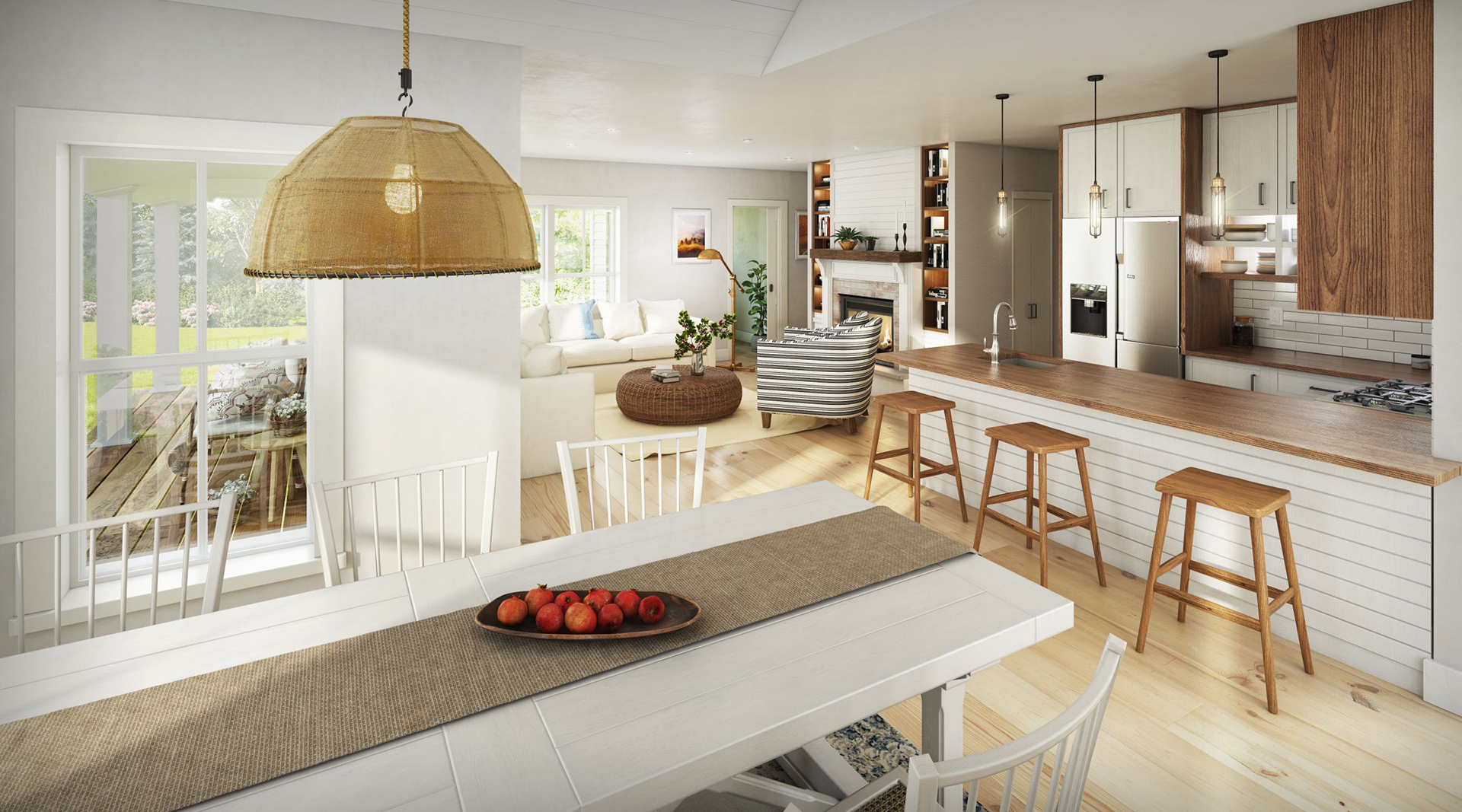 Profile Homes Cottage Interior Kitchen © 2018 Profile Homes