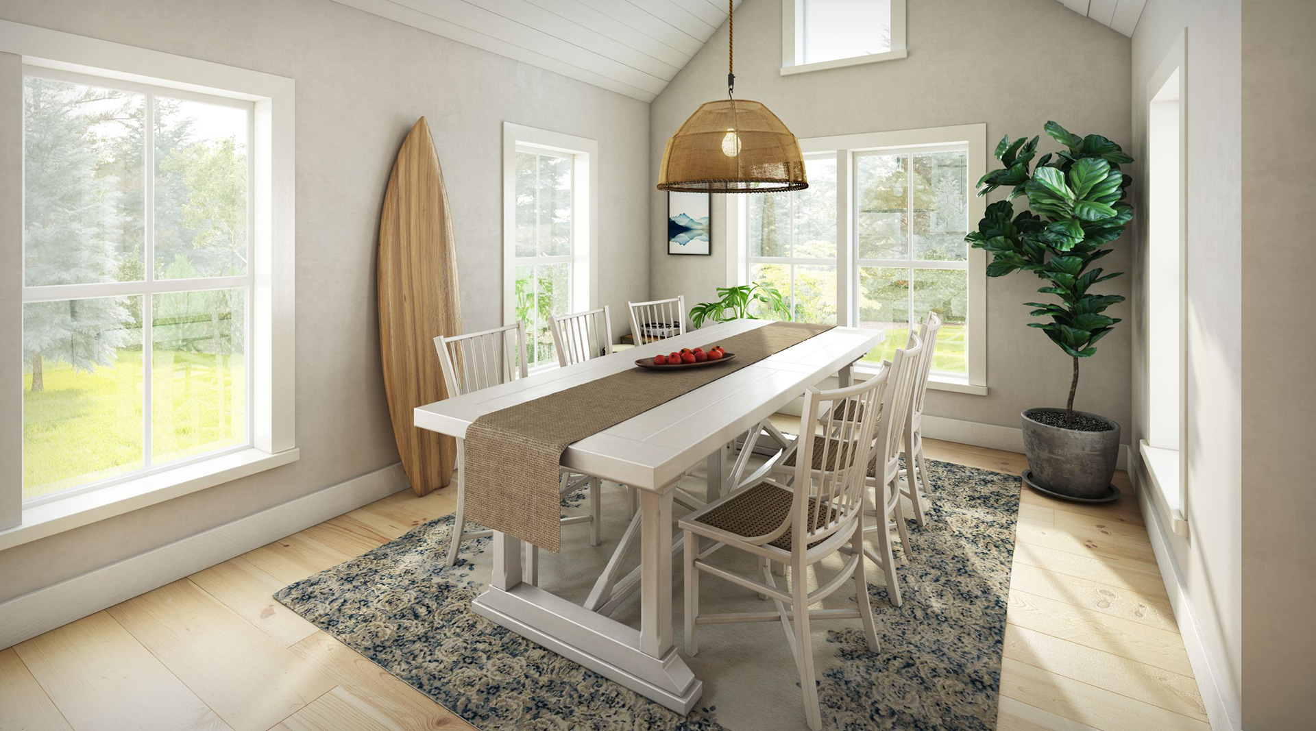 Profile Homes Cottage Interior Dining © 2018 Profile Homes