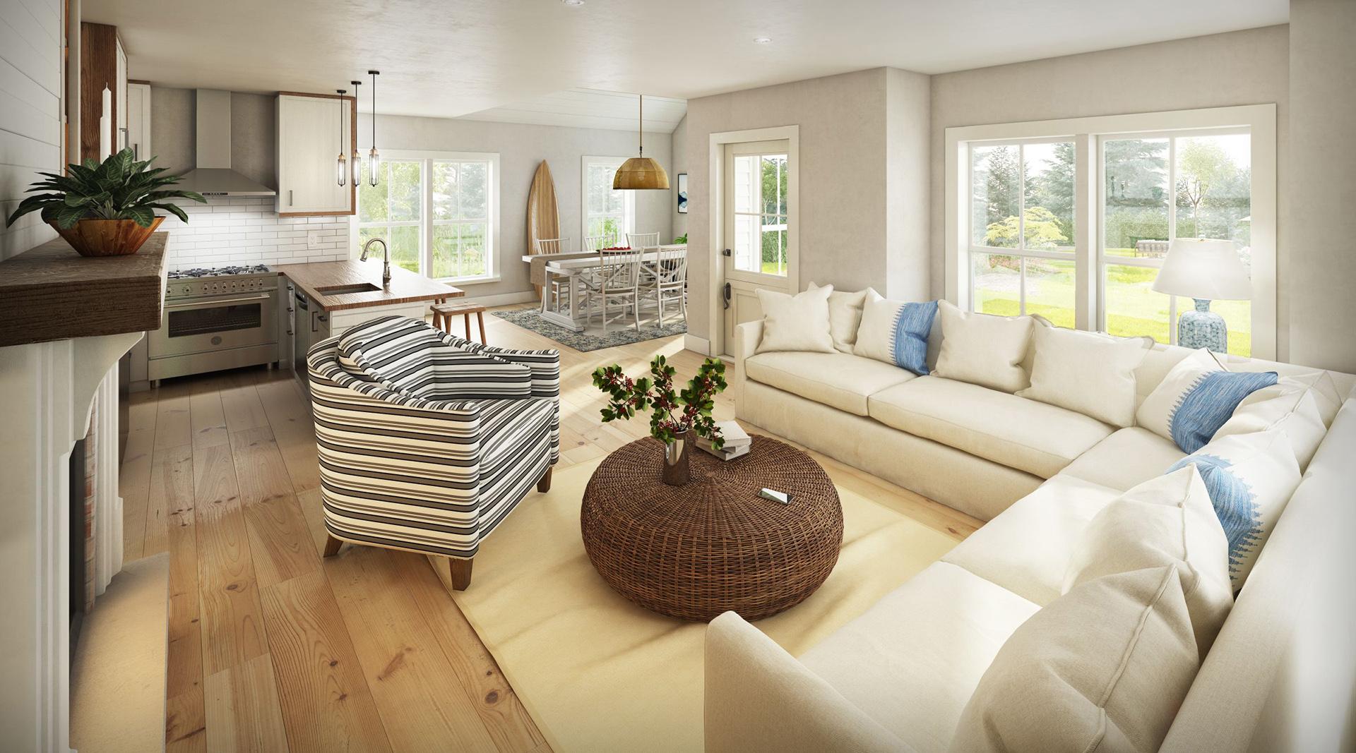 Profile Homes Cottage Interior © 2018 Profile Homes