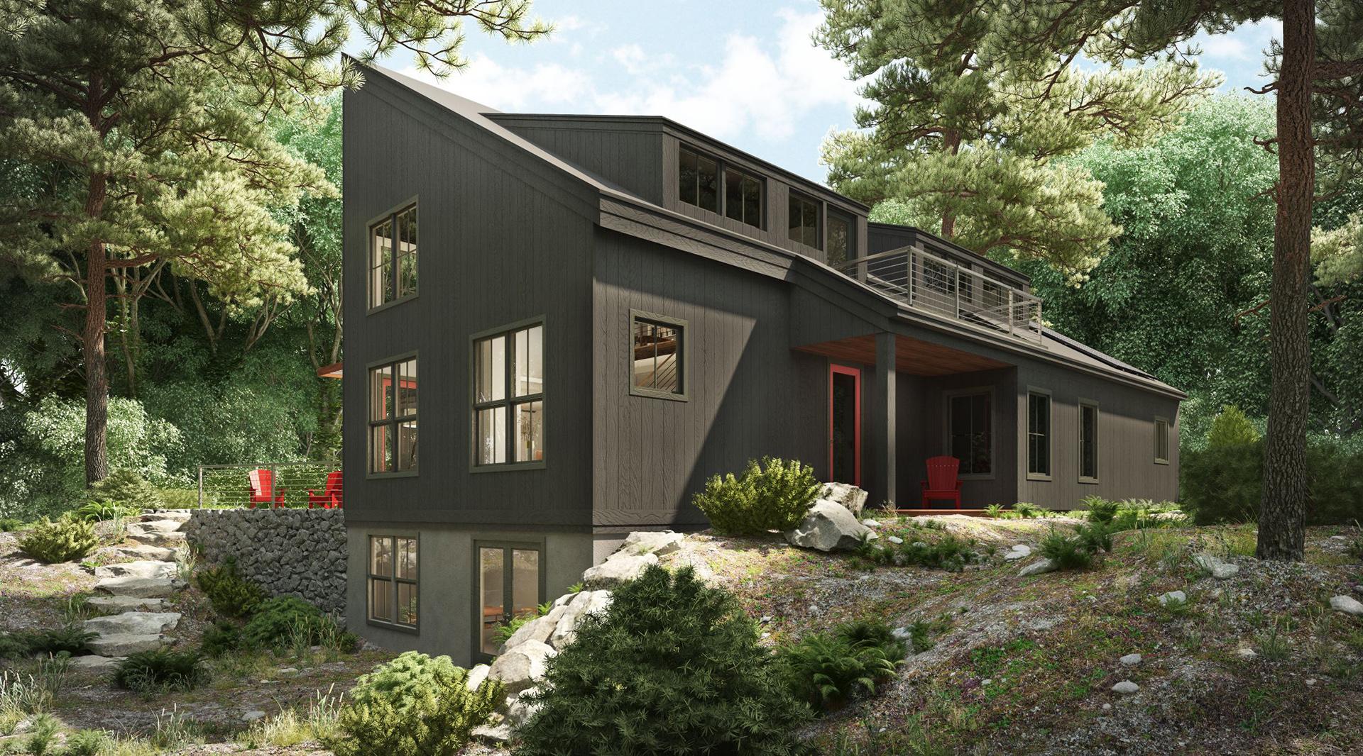 Profile Homes Modern Exterior © 2018 Profile Homes