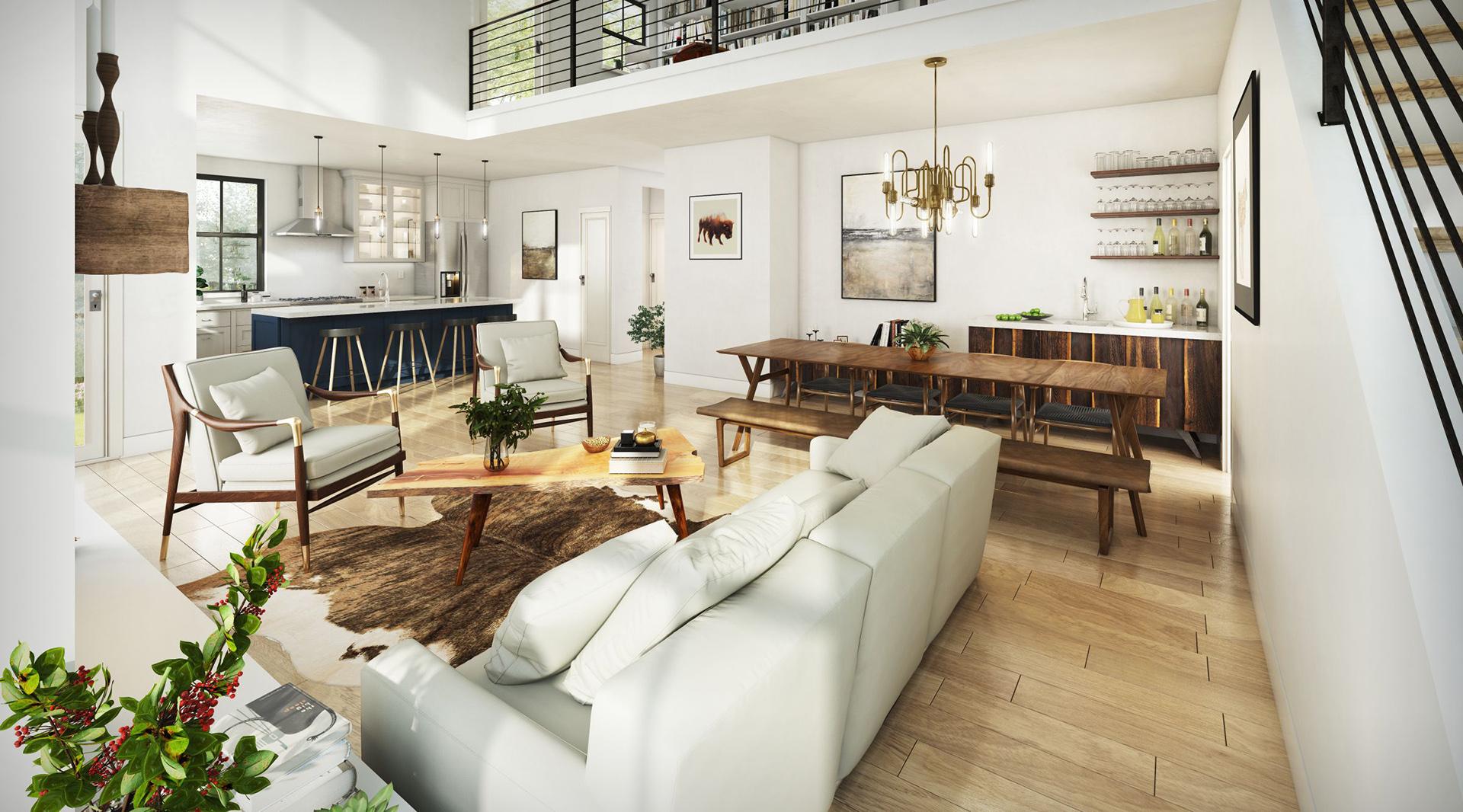 Profile Homes Modern Interior © 2018 Profile Homes